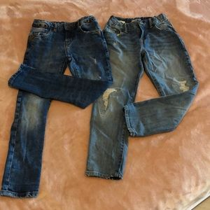 2 Gap and Zara jeans for stylish boys